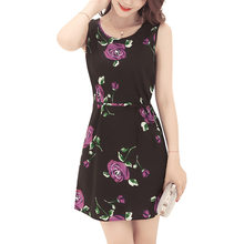 In the summer of 2018 the new amazon wish roses printed vest dress Ebay  cross-border detonation model 03dd187d56f9