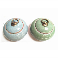Wholesale ceramic tea cans, kiln change tea cans, ceramic tea cans, gifts