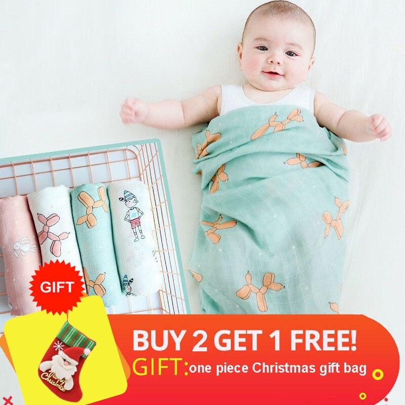 Baby Blanket 100% Soft Cotton Newborn Muslin Swaddle Bath Baby Deken Infant Wrap Sleepsack Stroller Cover For Babies Manta Bebe newborn baby swaddle wrap parisarc 100% cotton soft infant newborn baby products blanket