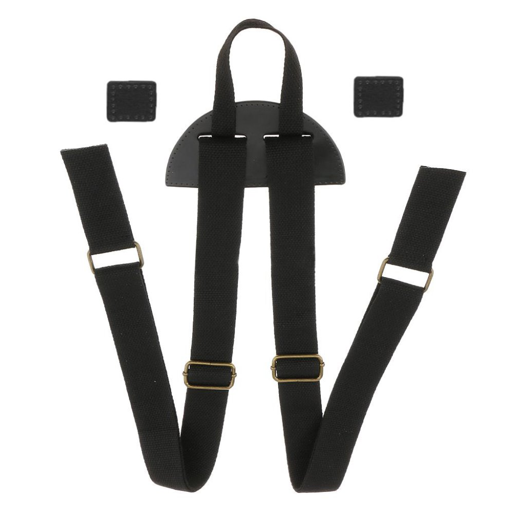 3.8cm Wide Adjustable Backpack Straps Replacement Shoulder Rucksack School Book Bag Belt Canvas Band DIY Accessories KZ0339
