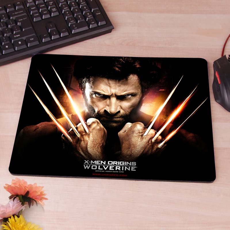 MaiYaCa The THOR X-man Computer Mouse Pad Mousepads Decorate Your Desk Non-Skid Rubber Pad No Overlock Edge