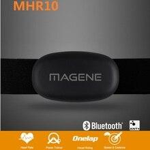 Датчик сердечного ритма для велосипедного компьютера с нагрудным ремешком ANT Bluetooth MHR10, Совместимость с датчиком Garmin-Bryton-Igps -suunto