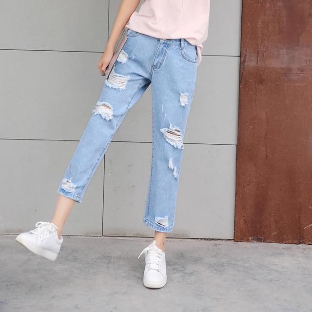 Aliexpress.com: kup Vetevidi Dorywczo jeansy boyfriend