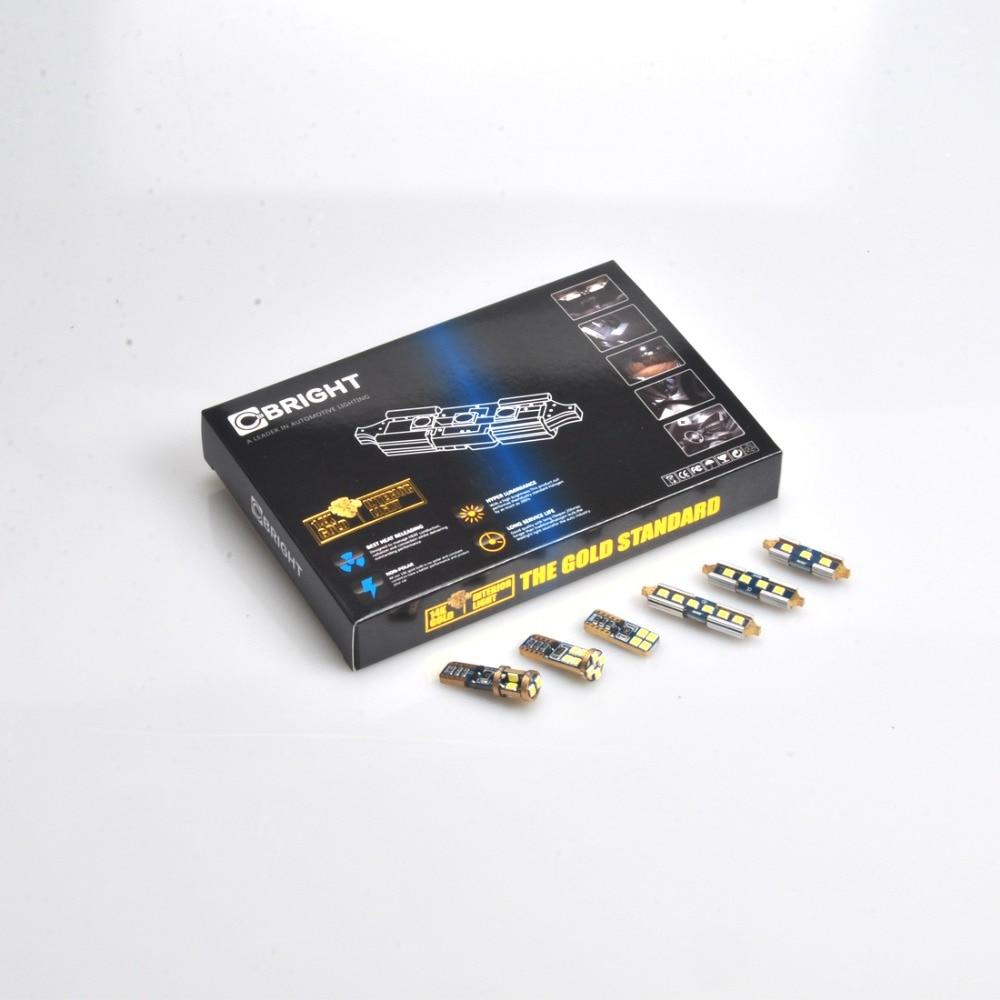15pcs 3030 SMD LED Interior Light Kit for Audi B8 or B8 5 A5 S5 Coupe