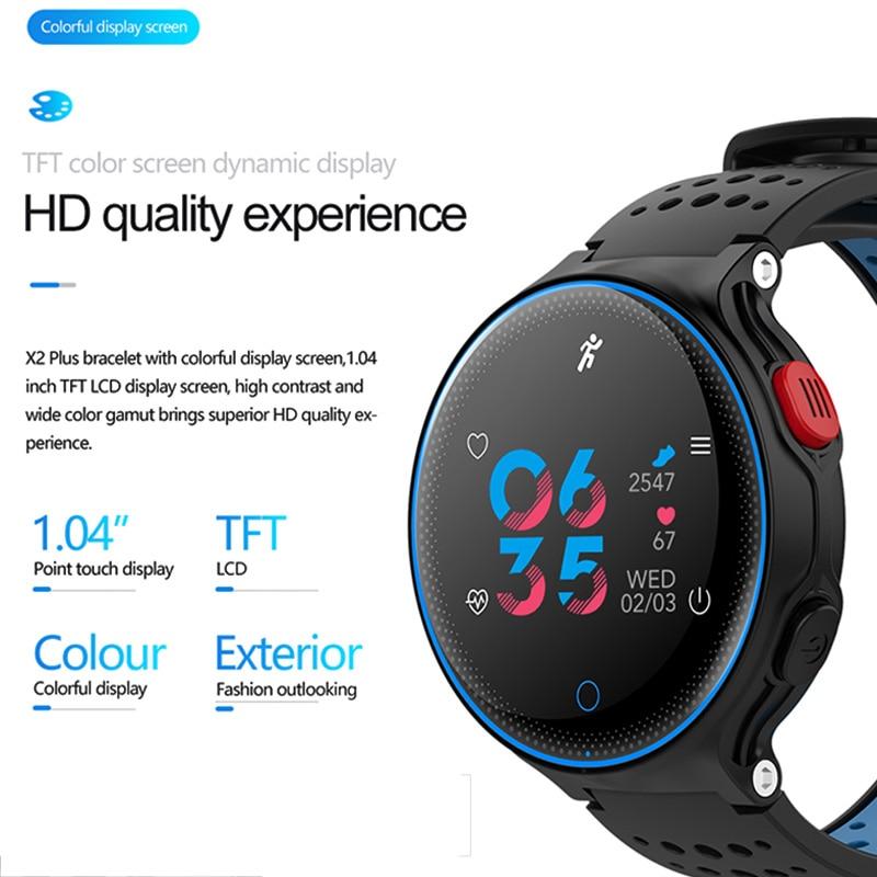 Pedometer Smartwatch Heart-Rate Sport-Bracelect Bluetooth Waterproof Men Women Man Monitor