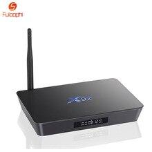 Fuloophi X92 S912 Set-top Boxes Amlogic 2 GB 3 GB 16 GB 32 GB Android 6.0 Caixa de TV Núcleo octa 5G Wifi BT4.0 HDMI 2.0 3D HD Media jogador