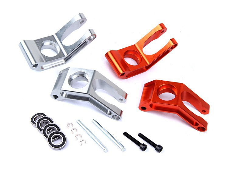 Alloy rear hub carrier set spare parts Fits 1:5 HPI Baja 5B, 5T, 5SC area rc rear hub carrier for losi 5t 5ive t