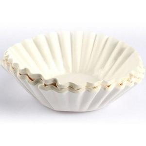 Image 2 - 1000/500 sztuk 12Cup amerykańska kawa bibuła filtracyjna ekspres do kawy wymiana Cafe Coffee Ware do koszyka RH 330