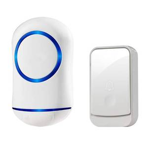 Smart Doorbell Chime Welcome Remote Intelligent Waterproof Home New 300M Wireless
