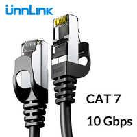 Câble Ethernet Unnlink UTP Cat6 STP Cat7 câble Lan RJ45 2m 3m 5m 8m 10m câble de raccordement réseau pour PC ordinateur Modem routeur TV Box