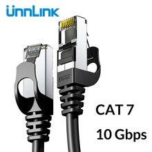 Unnlink – câble Ethernet UTP Cat6 STP Cat7 Lan, 2m 3m 5m 8m 10m, pour raccordement réseau, pour PC, Modem, routeur, TV Box