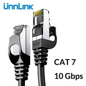 Unnlink Ethernet Cable UTP Cat6 STP Cat7 Lan Cable RJ45 2m 3m 5m 8m 10m Network Patch Cable For PC Computer Modem Router TV Box(China)