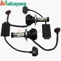 2pcs Lot Car LED Lamps DRL Led Headlight Fog Lamp V18 H4 HL H13 H1 H3
