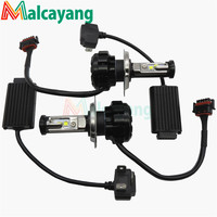 2pcs Lot Car LED Lamps DRL Led Headlight Fog Lamp V18 H4 HL H13 H1 H3