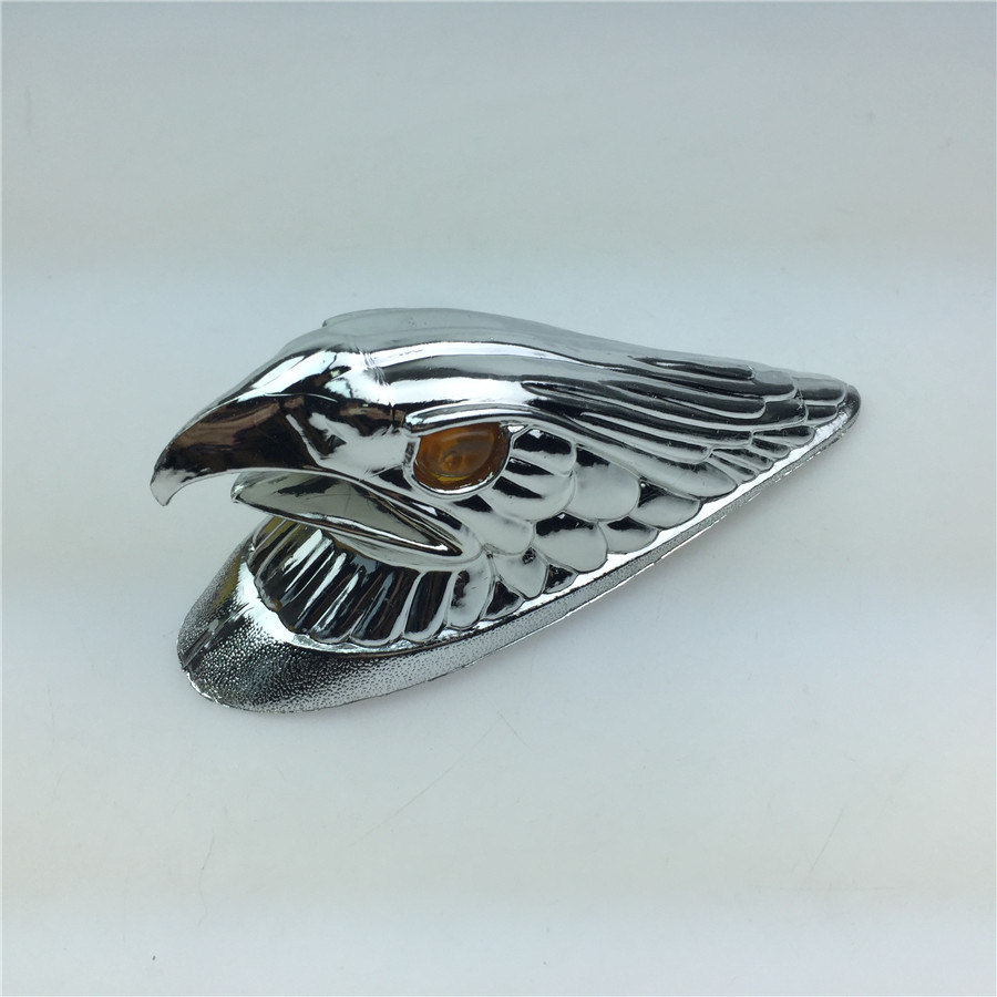 STARPAD Motorcycle Electric Car Front Fender Decorative Plating Eagle Head Option Parts Logo Free Shipping