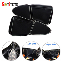 For Polaris Left And Right Door Bag With Knee Pad For Can Am Commander 1000 4x4