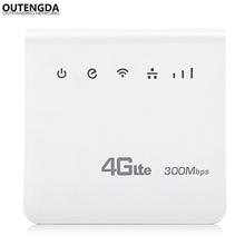 Unlocked 300Mbps WiFi Router 4g wifi Mobile LTE CPE Routers with LAN Port Support SIM Card Europe Asia Middle East Africa 300mbps unlocked 4g lte cpe wireless router support sim card 4pcs antenna with lan port support up to 32 wifi users wps function
