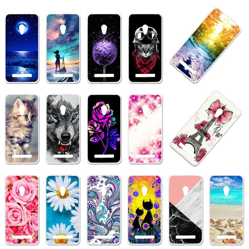 Case For Asus Zenfone 5 Soft TPU Silicone Cover For Asus Zenfone 5 ASUS_T00J A501CG A500CG A500KL 5.0 Inch Phone Cases Bumper