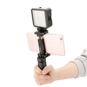 Image 2 - Ulanzi MT 05 Mini Tripod for Phone Smartphone Video Tripod Stand Handle Grip for DJI Osmo Pocket Gimbal Gopro 7 6 5 4