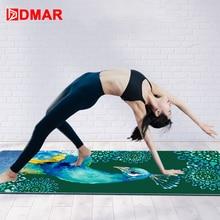 DMAR 183*65cm Yoga Mat Cover Towel Microfiber Non-slip Absorb Sweat Silica Gel  Blanket Pilates