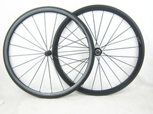 only 1350g 38mm profile carbon fiber clincher road bicycle wheel 20 5mm width 700C 11 speed