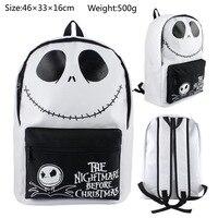 2018 School Bags For The Nightmare Before Christmas Jack Skull Shape Backpack School Bag Shoulders Anime Knapsack Travel Joker