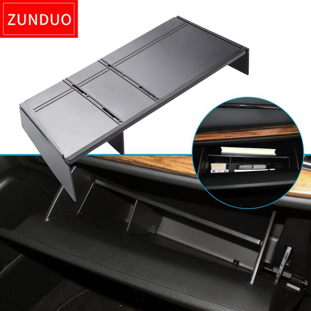ZUNDUO Car Glove Box Interval Storage For HONDA CR-V 2017 2018 2019 CRV Storage Console Tidying Box Central Storage Organlzer(China)