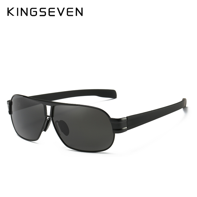 KINGSEVEN Fashion Driving Sun Glasses for Men Polarized sunglasses UV400 Protection Brand Design Eyewear High Quality  3