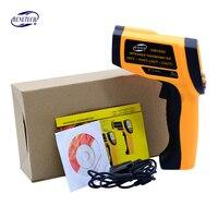 BENETECH Dijital termometre yüksek Sıcaklık Ölçer Gun 12:1/20:1/50: 1/80: 1 kızılötesi temassız termometre lcd backlight