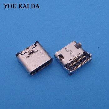 5pcs 12 pin Mini Micro USB jack Socket Connector Type C Mobile Phone Charging charger port power Plug dock female for MeiTu M6