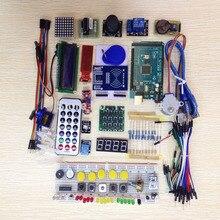Мега 2560 r3 starter kit серводвигатель RFID Ультразвуковой Начиная реле ЖК-ДИСПЛЕЙ для arduino