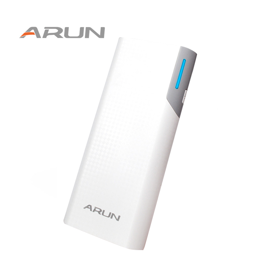 Arun 10000mah dual usb pory low key luxury high speed charging technology emergency power supply for