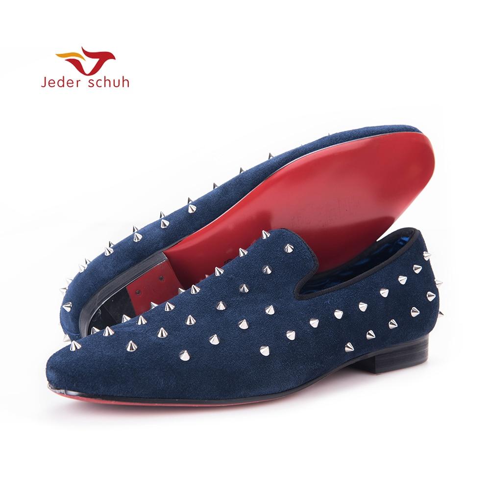 Fashion rivet kingad mehed Loafers Rock jooksvalt stiilis pühib T jaam meeste pulm ja pool kingad neet disain korterid tasuta saatmine