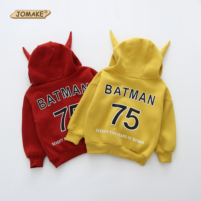 Letter Girls Hoodies & Sweatshirts Cute Horns Kids Fleece Hooded Pullover Casual Baby Girl Clothes Autumn New Children Clothing