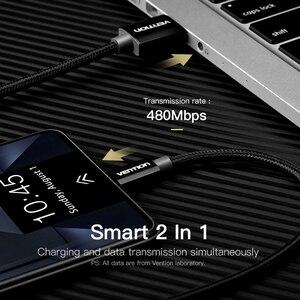 Image 3 - Vention Cable Micro USB 2A carga rápida para Samsung Xiaomi Cable de datos USB Cable de carga de teléfono móvil para tableta Android Huawei