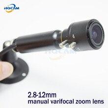 Mini Bullet CAMERA 1/3″ Sony CCD 420TVL Security CCTV mini Camera MINI CCD CAMERA 2.8-12mm manual varifocal zoom lens Industrial