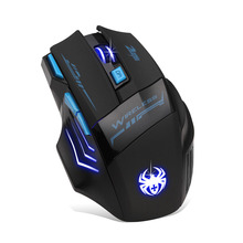 Professional Pro Gamer Adjustable 2400DPI Optical Wireless Gaming Mouse Gamer Mice For PC Laptop Desktop Computer Accessories