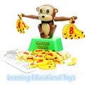 1 Unidades montessori juguetes educativos rompecabezas de equilibrio mono escala juguetes de escritorio clásico partido juegos de regalo para Los Niños