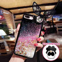 Hot Love Heart Glitter Stars Dynamic Liquid Quicksand Soft TPU Phone Back Cover Case For Meizu