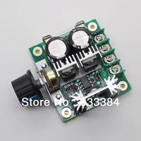 Wholesale!!!12V-40V 10A 13khz Pulse Width Modulation PWM DC Motor Speed Control Switch 1pc free pos
