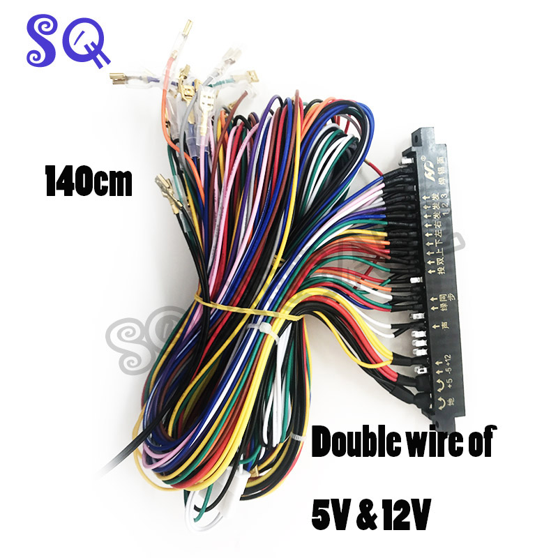 top 10 largest jamma cable ideas and get free shipping ... Jamma Full Cabinet Wiring Harness Loom on warping a 4 harness loom, electric harness for loom, wiring loom sleeve,