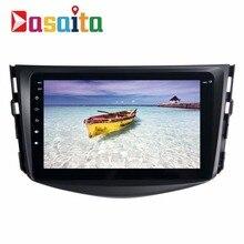 "Dasaita 8 ""Android 7.1 Coche Dvd GPS Navi para Toyota RAV4 2009-2012 con 2G + 16G Quad Core Radio estéreo Multimedia HDMI Sin DVD"