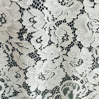 3 yards DIY off White Openwork Embroidery Lace Fabric Skin friendly Soft Summer Dress Dot Lace Fabric