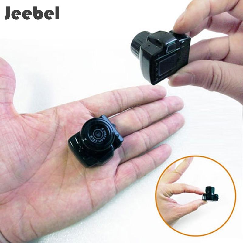 Jeebel Tiny Mini Camera HD Video Audio Recorder Webcam Camcorder DV DVR Sport Pet camera Micro Cam with Mic Hide Camera