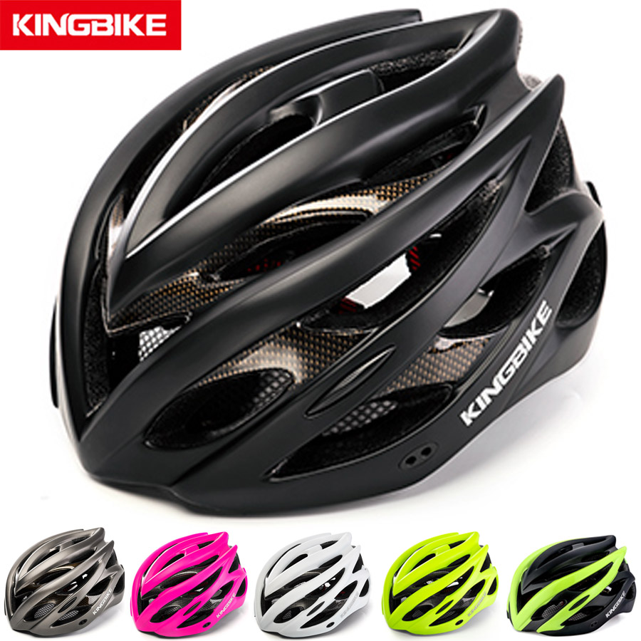 KINGBIKE Cycling Helmet With Back Light Bicycle Helmet MTB PVC+EPS Road Mountain Ultralight In-mold Bike Helmet Casco Ciclismo