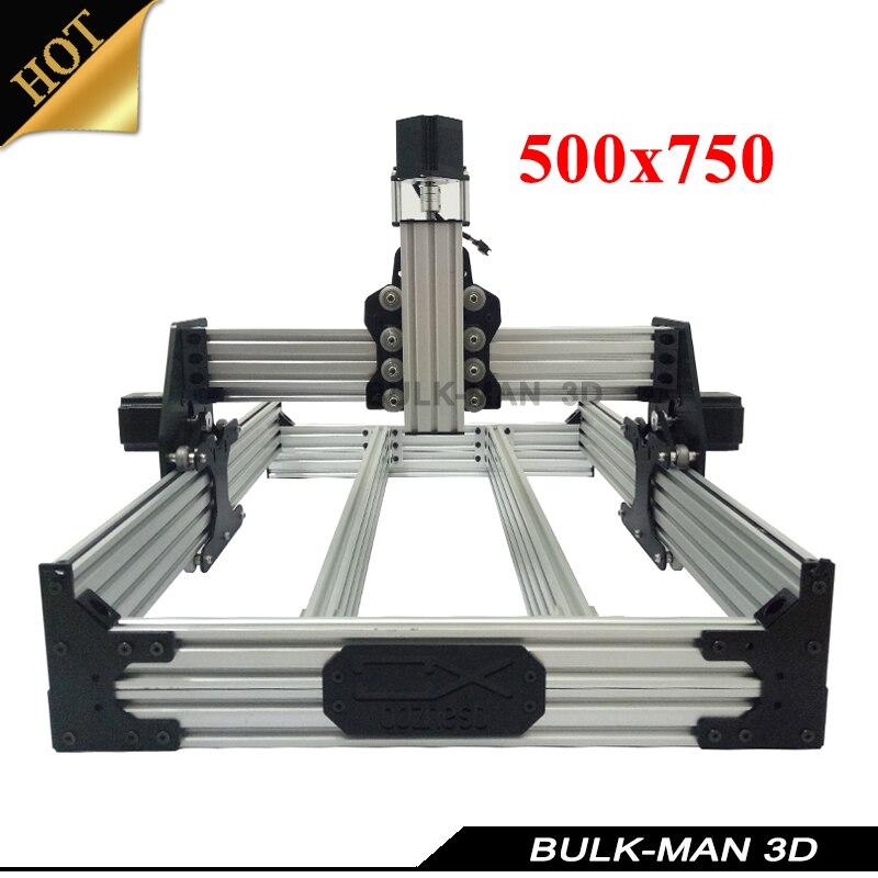 OX CNC механическое комплект с 4 шт. Nema шаговый двигатель для DIY Рабочий стол с ЧПУ дерева гравировка машина 500*750 мм
