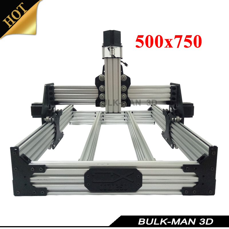 OX CNC Mechanical Kit with 4pcs Nema Stepper Motor for DIY Desktop CNC Router Wood Engrave Machine 500*750mm ox cnc mechanical kit with 4pcs nema stepper motor for diy desktop cnc router wood engrave machine 1000 1000mm