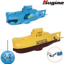 RC Boat Mini Submarine 3CH Warship Remote Control High-Speed
