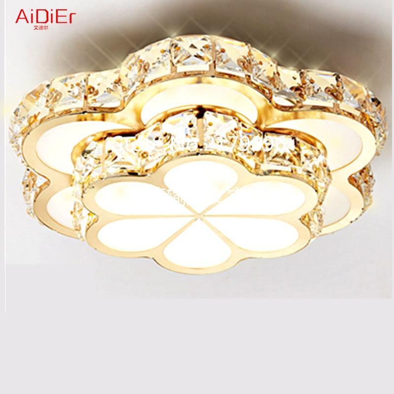 LED Kristall Kronleuchter Balkon Lichter Gang Lichter kreisförmige Eingang Korridor Lichter Strahler Hersteller Lampe FD-116