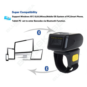 Image 3 - Eyoyo MJ R30 Portable Bluetooth Ring 2D Scanner Barcode Reader For IOS Android Windows PDF417 DM QR Code 2D Wireless Scanner